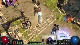 path of exile hc rip level 90 ice trapper 1 shot by piety