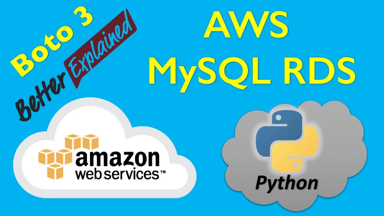 15 AWS Python Tutorial- Working with AWS RDS MySQL Database
