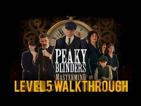 Peaky Blinders Mastermind Level 5 walkthrough  