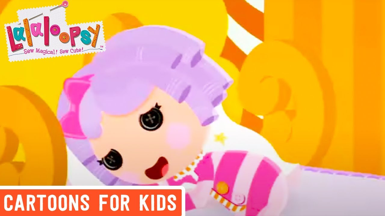 Lalaloopsy Webisode Pillow Featherbed Up All Night We
