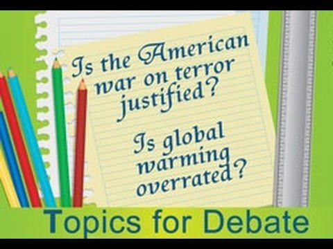 Brilliantly Enlightening Debate Topics for High School Students