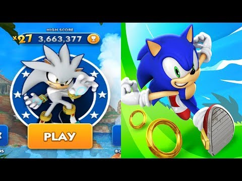 Sonic Dash - SILVER Android Gameplay Ep 26