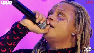 "Trippie Redd perform ""Taking A Walk"" at Halloween Rolling Loud 2020"