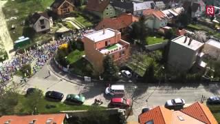 Pozrite si letecké zábery z behu Devín Bratislava (video z dronu)