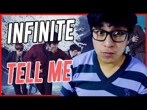 """INFINITE """"Tell Me""""  REACCIÓN // KPOP REACTION // Shiro No Yume"""