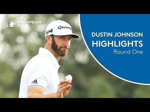 Dustin Johnson Highlights | Round 1 | 2018 Abu Dhabi HSBC Golf Championship