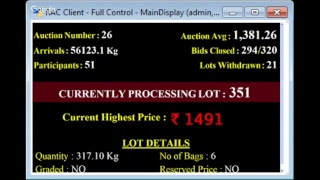 SPICES BOARD E-AUCTION PUTTADY 20.02.2019 SSP LIVE