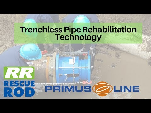 RESCUE ROD | Primus Line®  Pipeline Rehabilitation | Johannesburg City Deep | May 2017