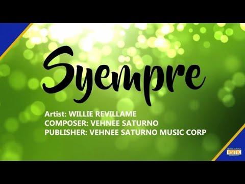 Willie Revillame  Syempre