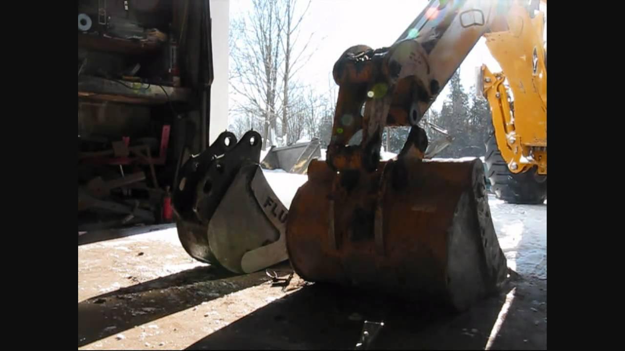 John Deere 110 Tlb Backhoe Bucket Change