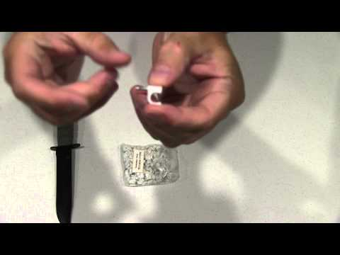 Your Cable Store 100 Pack White RG6 Cable Clips Unboxing