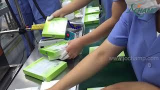 뷰티 마스크 용 자동 카톤 박스 충전기 라인 | 페이셜…