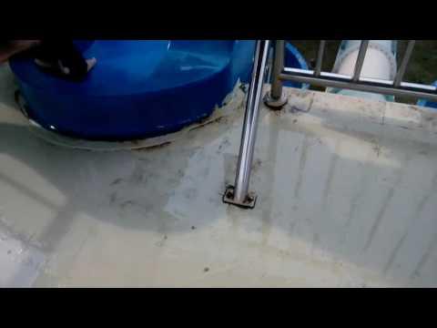Water slide at bayou lagoon malaysia resorts