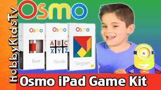 Osmo Game System Review + Play with NEW Masterpiece Drawing App! HobbyKidsTV thumbnail