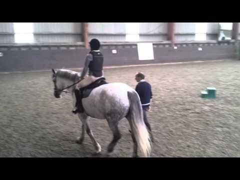 Horse Riding with Prosthetic leg on Nina 3