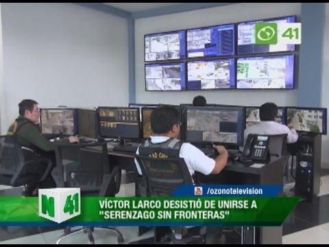 Víctor Larco desistió de unirse a 'Serenazgo sin fronteras' - Trujillo
