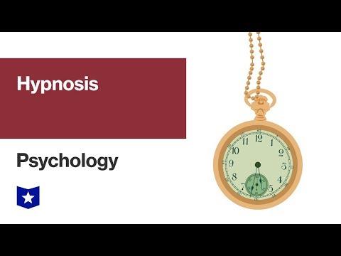 Hypnosis | Psychology - YouTube