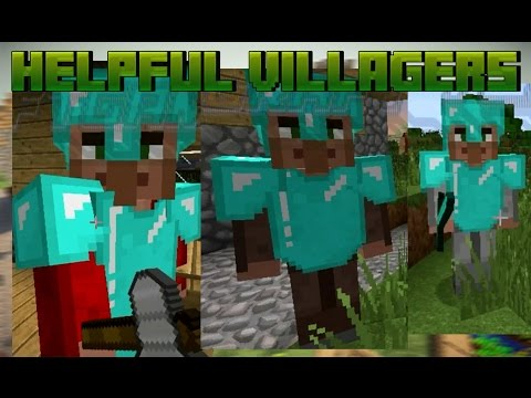 Full Download] Minecraft Helpful Villagers Mod Create A