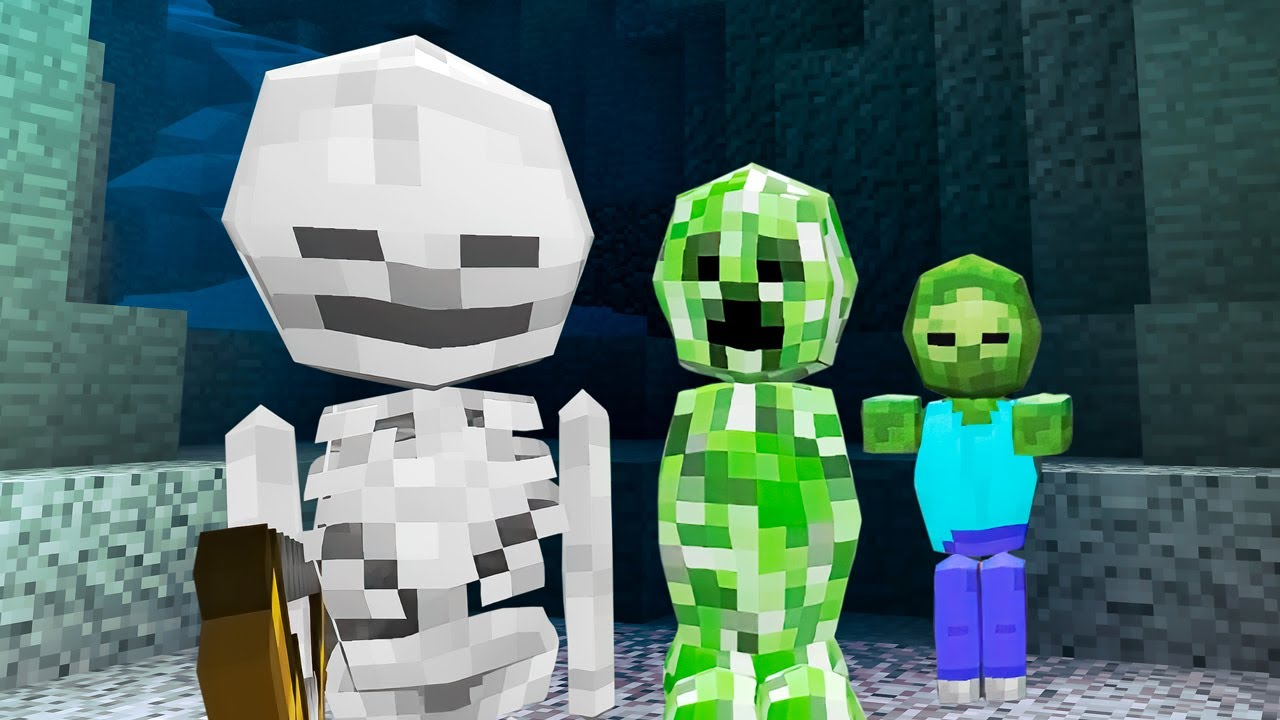 face Minecraft mob songs the