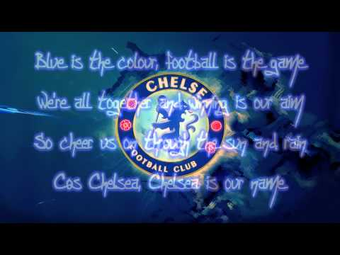 Chelsea FC Theme Song - Blue Is The Color Lyrics   HD