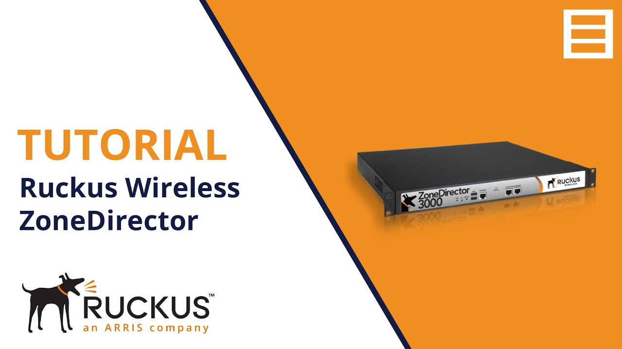 Tutorial: Ruckus Wireless ZoneDirector Installation