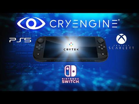 New Nintendo Switch CRYENGINE Next Gen Support + Specs Target & New MP Online Game In Development!