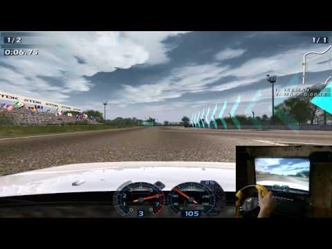 World Racing 2 Ваз 21099 руль Genius Speed Wheel RV.