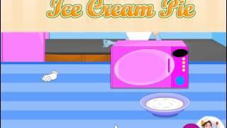 Cinderella Cooking Caramel Macchiato Ice Cream Pie (Золушка готовит торт Латте Макиато)