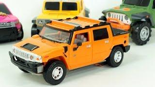 Rv Car Hummer H2 Sut Tobot  Robot Transformation Car Toys 험머 H2 Sut 또봇K 미니특공대 자동차 장난감  로봇 변신 동영상
