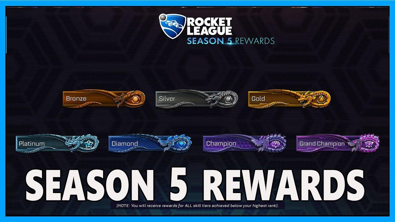 Season 5 Rewards & Soft Skill Reset! Rocket League Infos ...