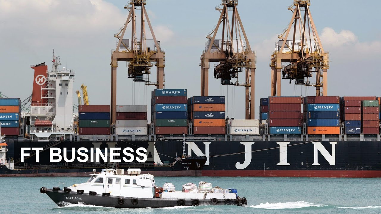 Container Shipping : the World in a box