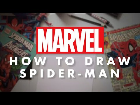 How-to-Draw-Spider-Man-LIVE