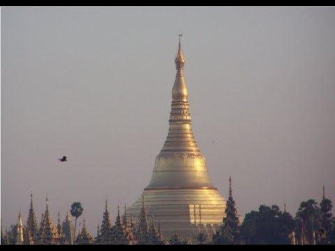 Myanmar (Burma) Photo Slideshow with Relaxing Meditation music & Ambience