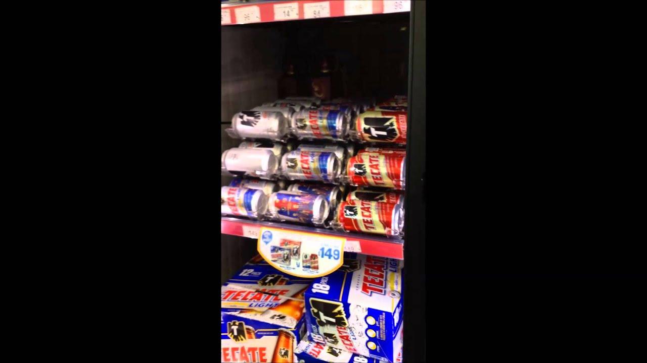 Dispensador de latas youtube for Dispensador de latas para frigorifico