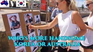 Are KOREAN Guys Or AUSTRALIAN Guys More HANDSOME | We Fancy - BapMokja & Haeppy