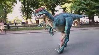 Шоу динозавров в Анапе! TRexShow.