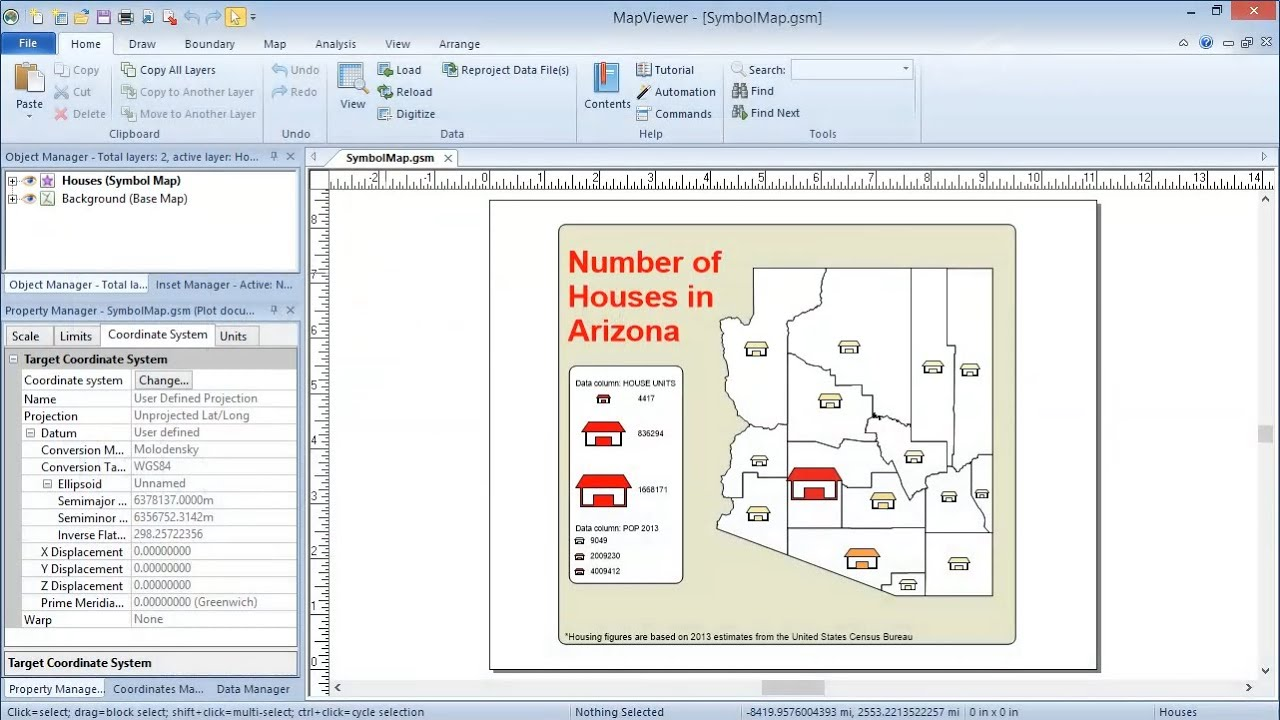 small resolution of mapviewer 8 creating symbol maps training video golden software support