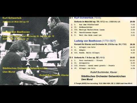 Kurt Schwertsik Sinfonie im Mob-Stil op. 19