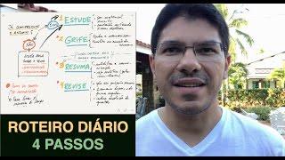 [Dica] Roteiro Diário e Completo de Estudos em 4 PASSOS | Gerson Aragão thumbnail
