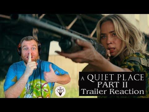 """A Quiet Place Part II"" 2020 Official Trailer Reaction & Breakdown - The Horror Show"