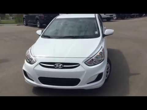 2017 Hyundai Accent 5 Door Hatchback GL || Edmonton Hyundai Dealer