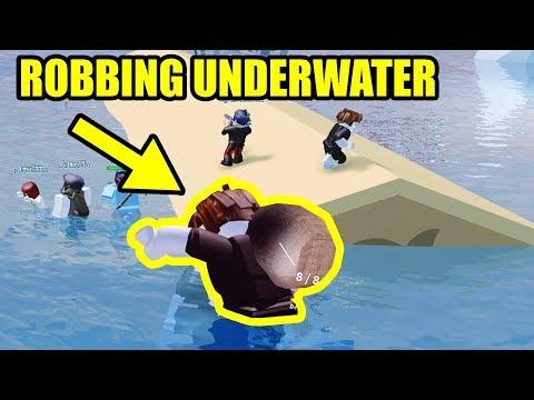 GRINDING on UNDERWATER JAILBREAK MAP?! | Roblox Jailbreak