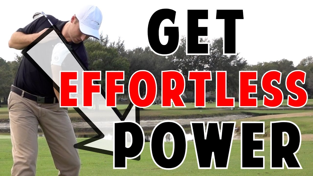 golf lessons | effortless power - youtube