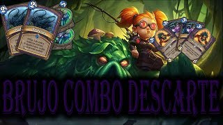 HEARTHSTONE ESPAÑOL GAMEPLAY BRUJO DESCARTE!