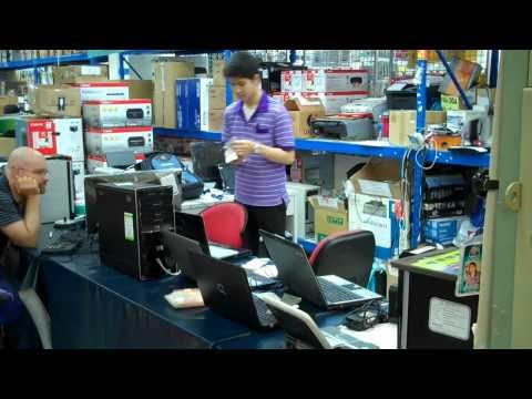 Repair Computers Chiangmai Thailand Part 1