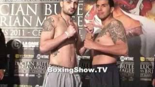 Weigh in Vanes Martirosyan vs Bladimir Hernandez @ BoxingShow.TV