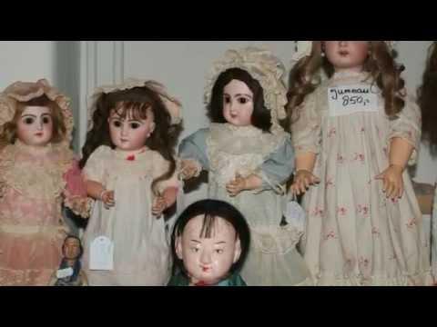 Verslag van de poppenbeurs in Rotterdam op 6 april 2015 (antieke poppen)