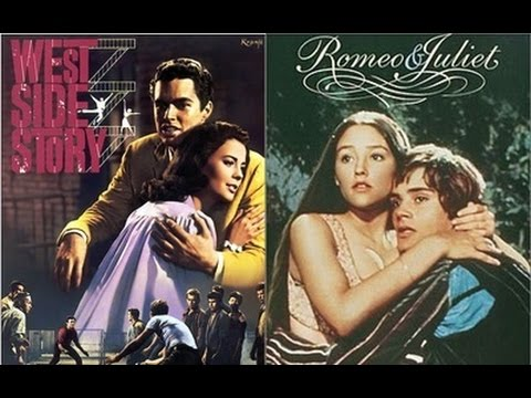a comparison of west side story and romeo and juliet Romeo and juliet/ west side story compare and contrast i recently finished reading romeo and juliet, as well as west side story as i read i noticed various things which were similar between.