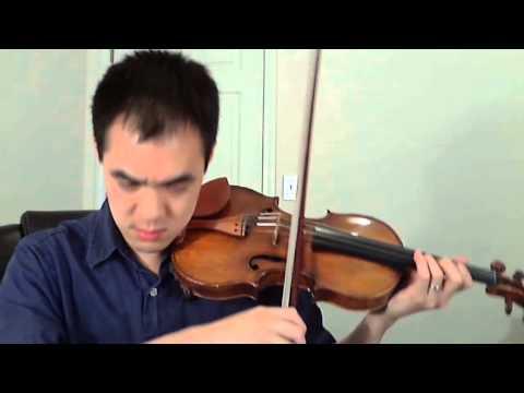 Secret Garden On Violin 08 08 08 Ben Chan S 26th B
