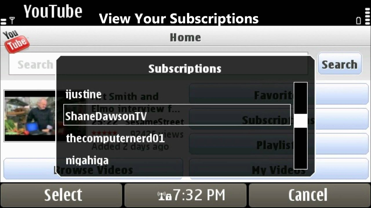Updated Youtube App for Symbian 3
